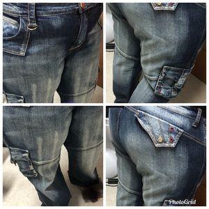 💙ADORABLE MUST C Plus size carpenter jeans 👖
